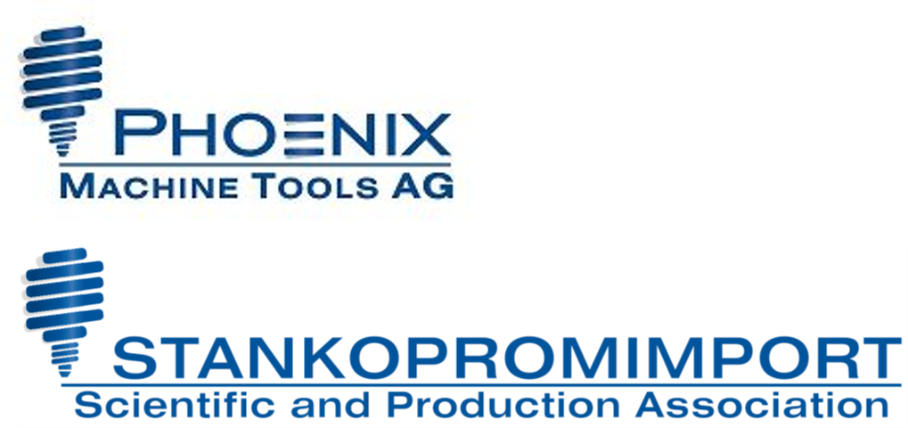 PHOENIX MACHINE TOOLS AG / LLC Stankopromimport Logo